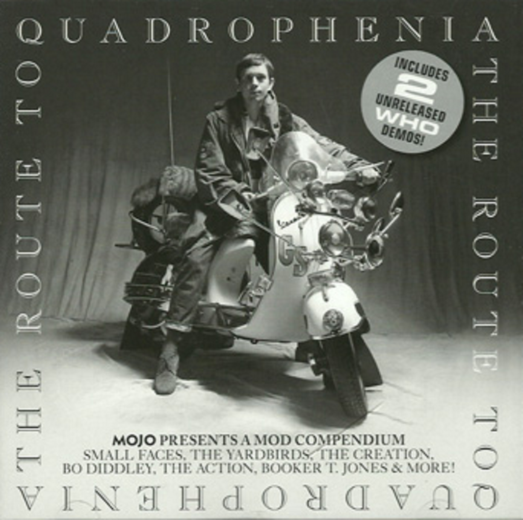 love is a four letter word album cover - mojo presents the route to quadrophenia