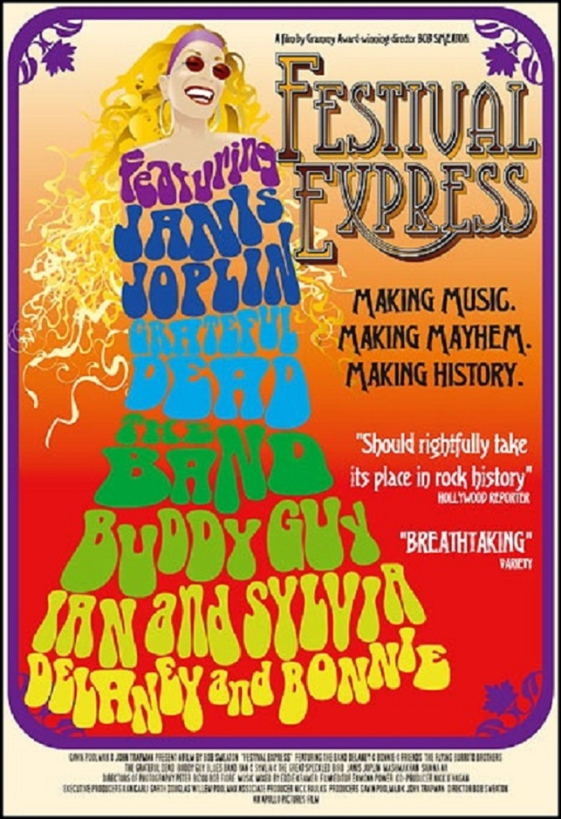 Festival Express 1970 poster b