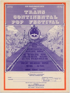 Festival Express 1970 poster