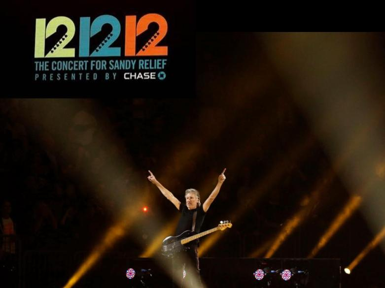 Roger Waters (of Pink Floyd) 12-12-12 Sandy Benefit b