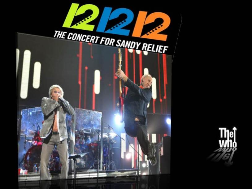 THE WHO 12-12-12