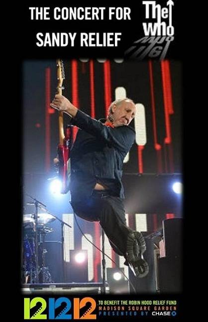 THE WHO 12-12-12s
