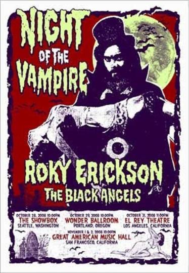 Roky Erickson & the Black Angels Night of the Vampire (1)