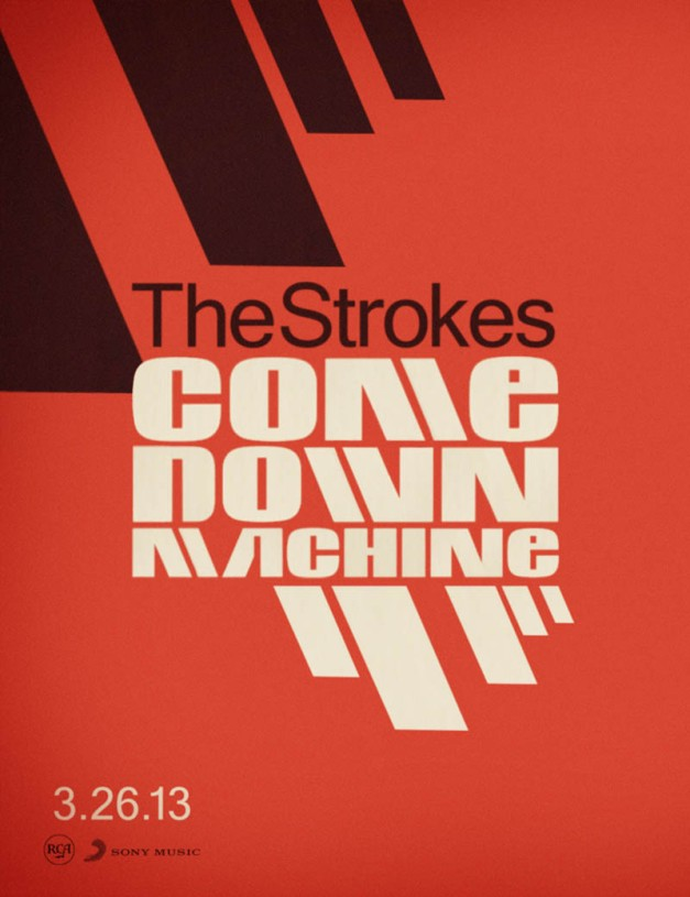 FANART_THE_STROKES_COMEDOWN_MACHINE_POSTER (1)